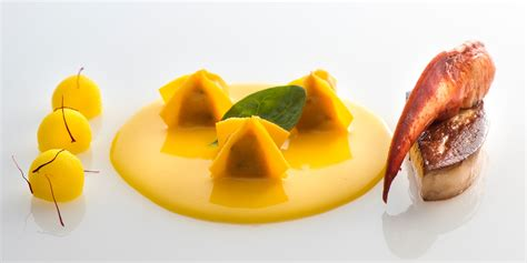 lobster  foie gras ravioli recipe great italian chefs