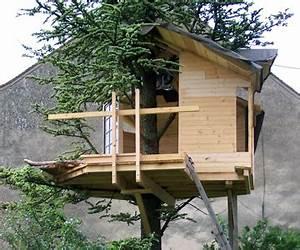 Plan De Cabane En Bois : plan cabane en bois arbre ~ Melissatoandfro.com Idées de Décoration