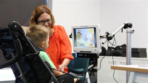 eye gaze control technology cerebral palsy alliance