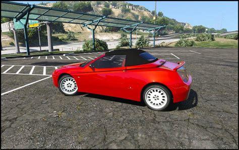 Gta 5 Alfa Romeo Spider 916 [addon  Replace] Mod