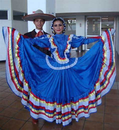 Traje Típico de Jalisco México Trajes regionales