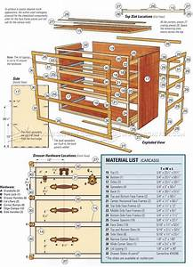 Steamer Trunk Dresser Plans • WoodArchivist