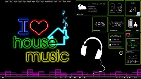 Download Wallpaper House Music & Electro Dance Music
