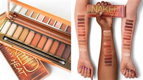 review urban decay naked heat palette time  put  face