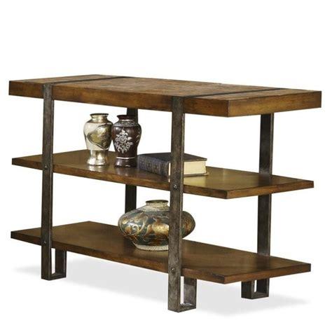 riverside furniture console table riverside furniture sierra console table tv stand in