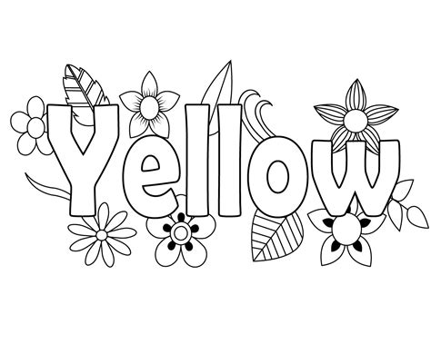 Free Green Coloring Pages For Kids