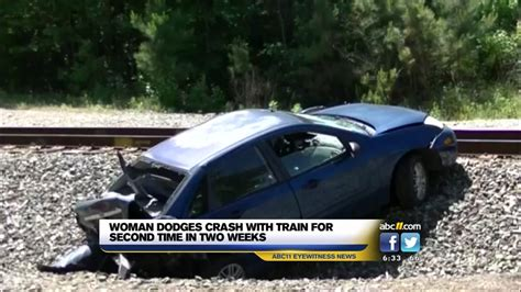 Train Crashes Into Car On Tracks In Wake County