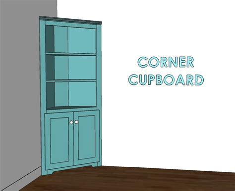 building plans  corner cabinet woodworking projects