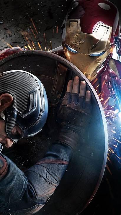 Captain America Civil Marvel War Iphone 1080