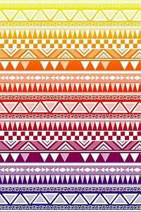 rainbow white tribal print wallpaper ♥♥ | Wallpaper ...