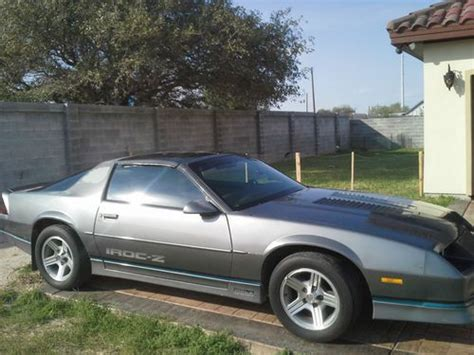 Gray Daniel Chevrolet by Find Used 1988 Grey Chevy Camaro Iroc Z 28 In Brownsville