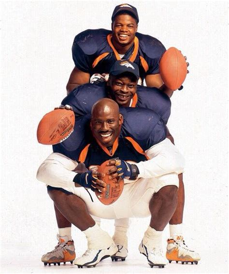 Broncos Old School Olandis Gary Mike Anderson And Howard