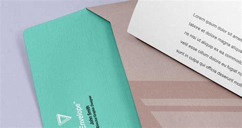 envelope letter psd branding mockup psd mock  templates pixeden