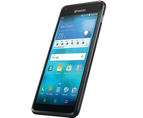 kyocera hydro shore waterproof android phone