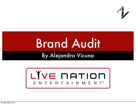 Live Nation Brand Audit