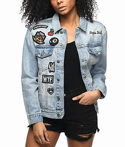 American Eagle Jeans Size Chart Civil Splatter Patches Denim Jacket Zumiez