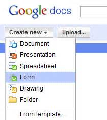 how to create polls using google docs and publish results With google docs poll create