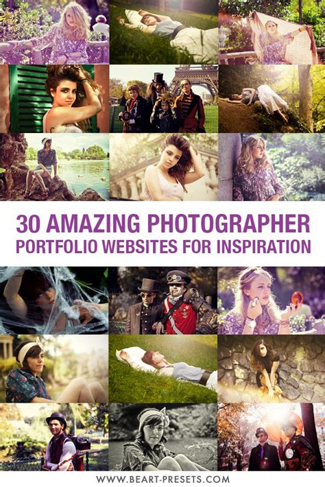 30 Amazing Photographer Portfolio Websites For Inspiration
