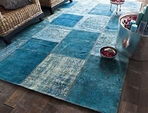 tapis bleu canard With tapis bleu canard