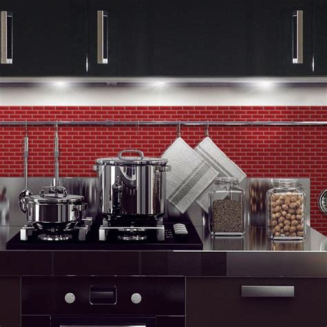 decorative wall tiles kitchen backsplash smart tiles murano cosmo 10 20 in w x 9 10 in h peel and