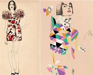 Mink Dagger Illustration Fashion