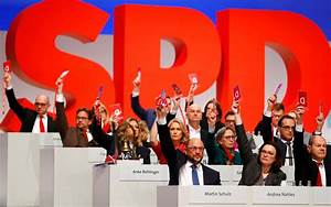 German Social-Democrats Vote for Coalition With Merkel ...