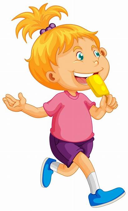 Eating Popsicle Vector Clipart Clip System