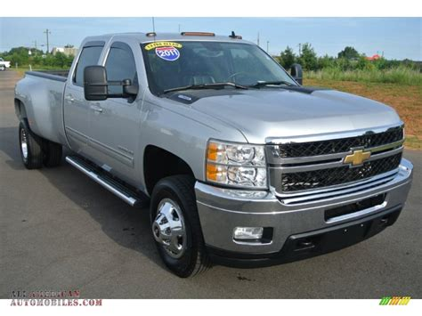 2011 Chevrolet Silverado 3500hd Ltz Crew Cab 4x4 In Sheer