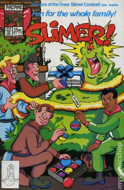 slimer  comic books