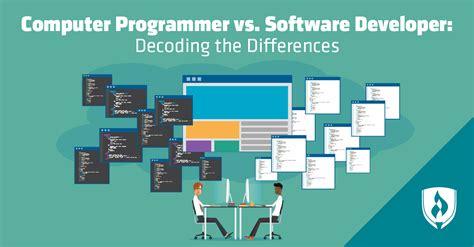 computer programmer  software developer decoding