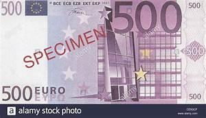 500 Euro Häuser : specimen 500 euro banknote stock photo royalty free image ~ Lizthompson.info Haus und Dekorationen