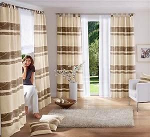 Stores Für Wohnzimmer : 1 st vorhang gardine 145 x 225 creme braun schlaufen store blickdicht neu ebay ~ Sanjose-hotels-ca.com Haus und Dekorationen