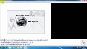 Instruction Software Guide Ssangyong Epc Parts Catalog 11
