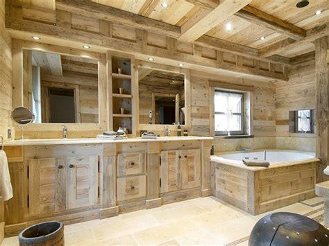 salle de bain montagne salle de bain style montagne