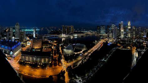 Singapore Night Bing Wallpaper Download