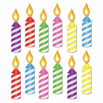Candle Birthday Mini Cutouts Cutout