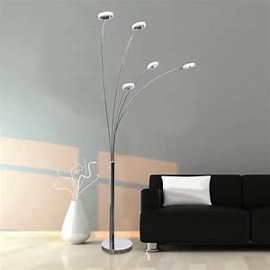 5-light, led, arc, floor, lamp, -, walmart, com