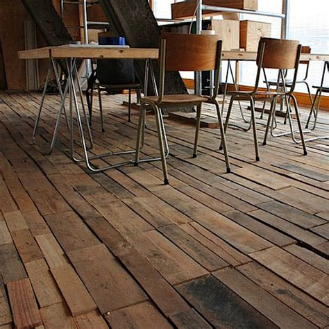 pallet flooring trend  pinterest