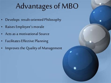 Concept Of Management By Objective (mbo