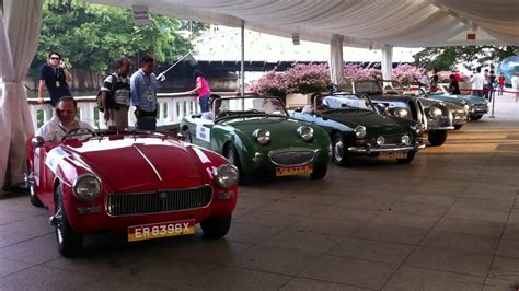 2011 Singapore Gp Formula 1 Classic Cars Driveoff