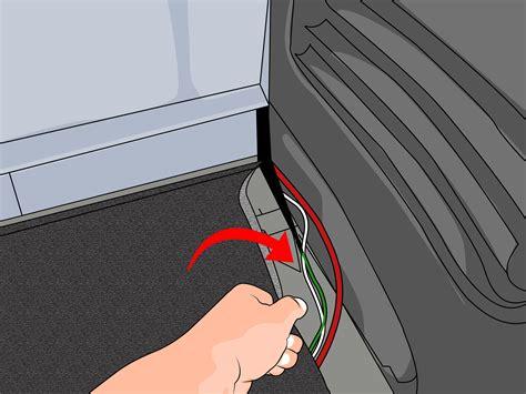 ways  disable  seat belt alarm wikihow