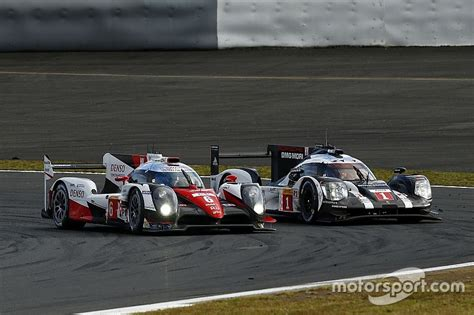 Toyota Wec 2020 by Porsche And Toyota Agree No New Wec Chassis Before 2020