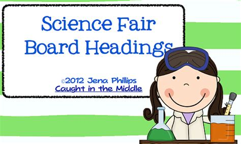 science fair headings printable free printable science fair labels search results