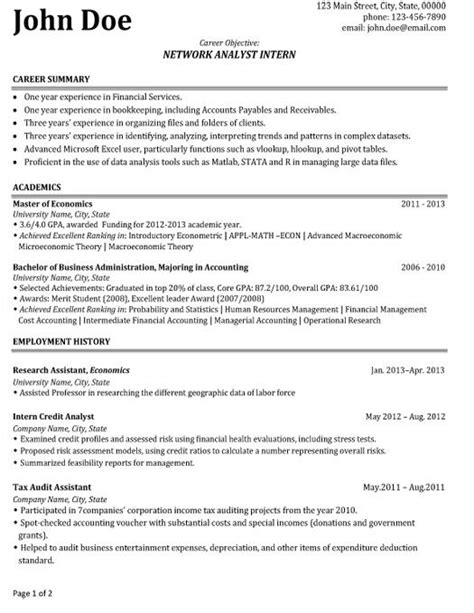 Accounting Intern Resume by Pin By Resumetemplates101 On Best Network