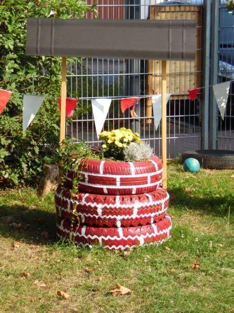 Brunnen Aus Autoreifen by Brunnen Aus Autoreifen Brunnen Aus Autoreifen Die Bemalt