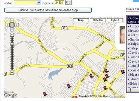 find offenders map free how do i find out if there are offenders in my area
