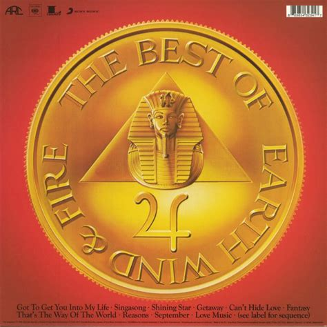 Best Of Earth Wind And by Earth Wind Greatest Hits Vol 1 Vinyl At Juno Records