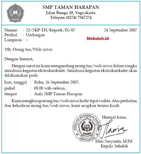 Penulisan Surat Undangan Yang Tepat by Wow Contoh Kop Surat Formal 94 Dalam Desain Kop Surat Unik