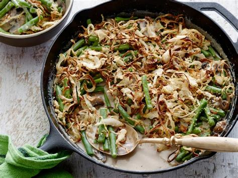 green bean casserole recipe alton brown food