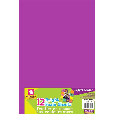 95999 Creative Fiber Arts Coupon by Fibre Craft Foam Sheets Brights Joann